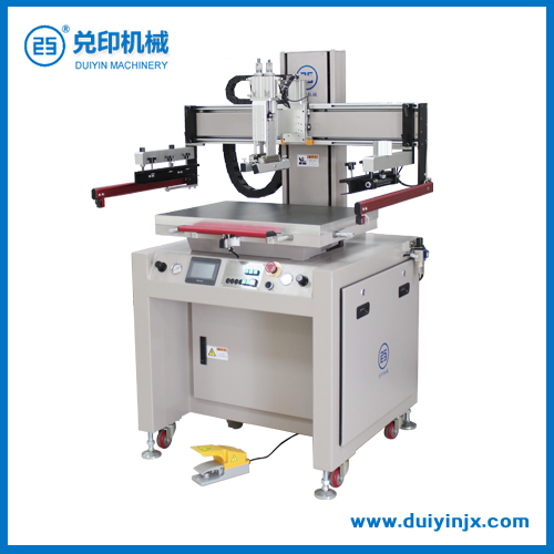 Dy-60p electric full servo flat screen printer