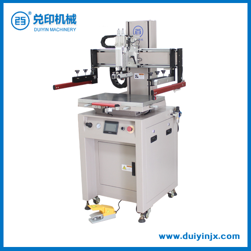 Dy-45p electric full servo flat screen printer